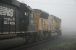 UP 5038 & NS 7110